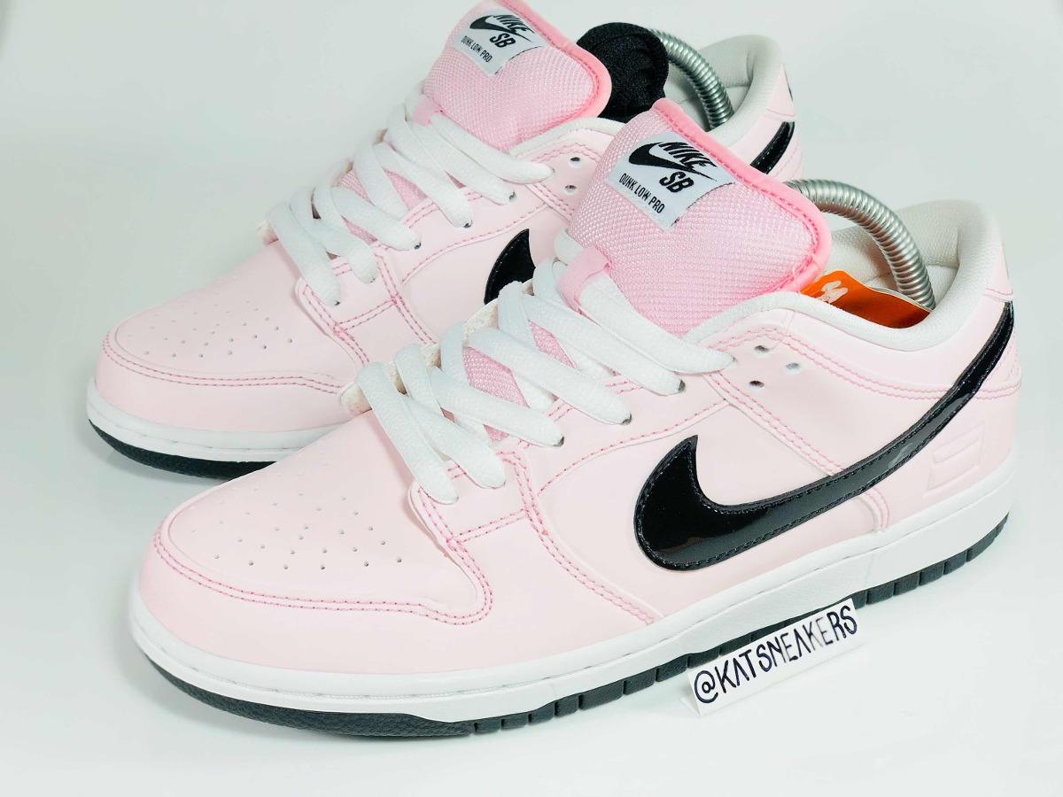 sale retailer 96676 64ca0 Nike Sb Dunk Low Pink Box Rosa 38 7.0 Novo Sem Juros