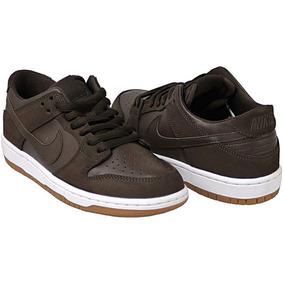 c37a989925 Zapatillas Con Cierre Automatico - Zapatillas Nike Skate Marrón en ...