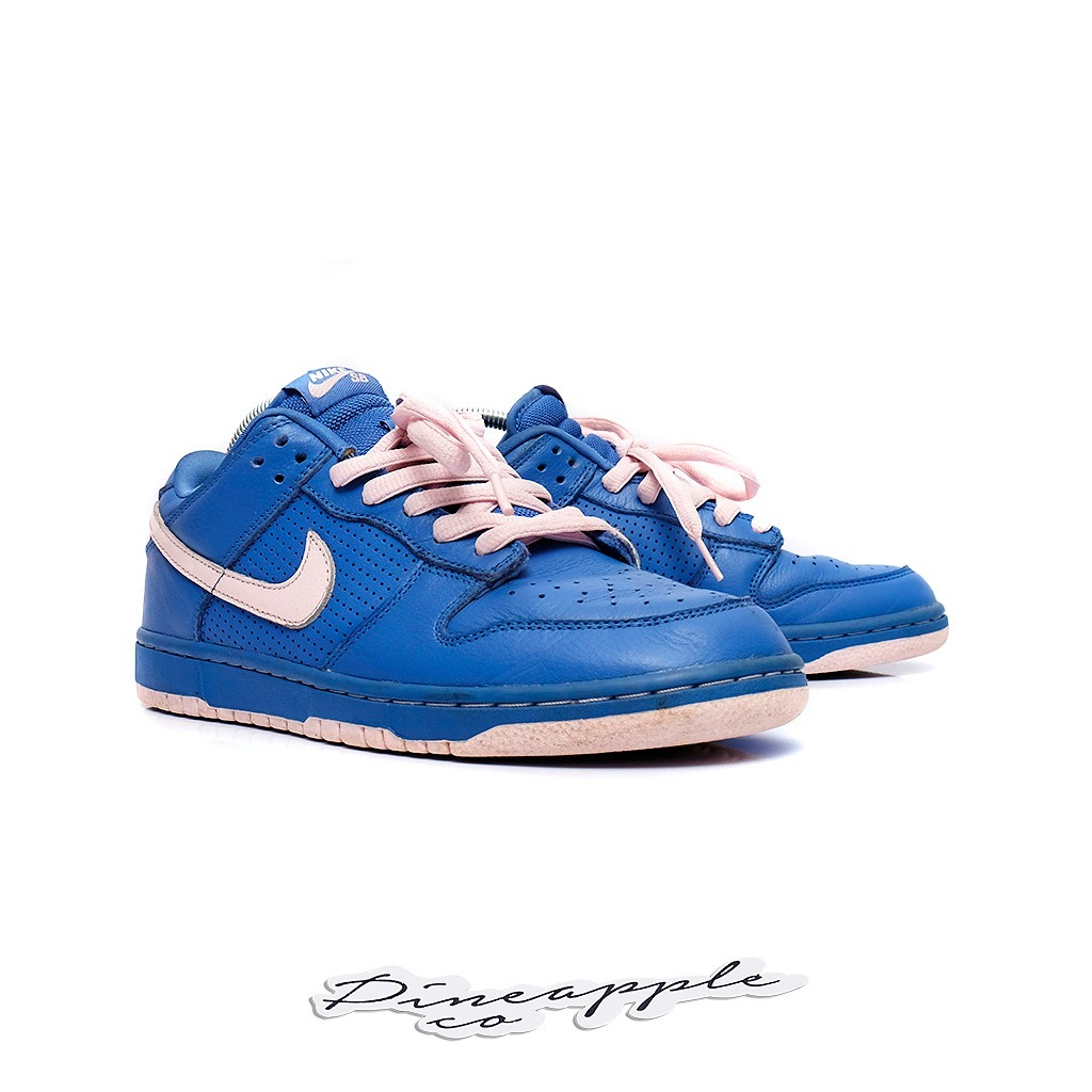 e36ad856142a ... clearance nike sb dunk low varsity blue pink ice. carregando zoom.  2a84a 48635