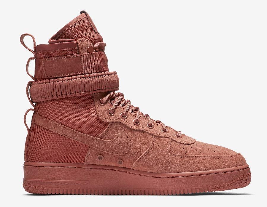 Nike Sf Air Force 1 Dusty Peach Af1 Botas Mayma Sneakers