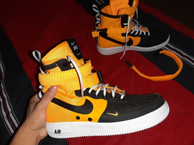 Nike Sf Air Force 1 High Orange Laser
