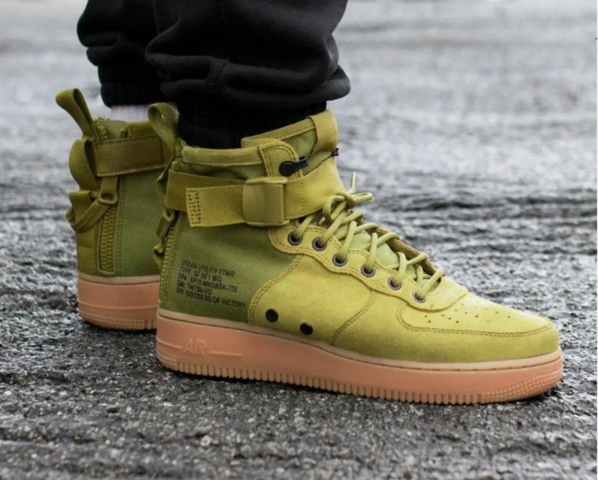 best website a9a68 feed5 nike sf air force 1 mid desert moss - hombre originales. Cargando zoom.