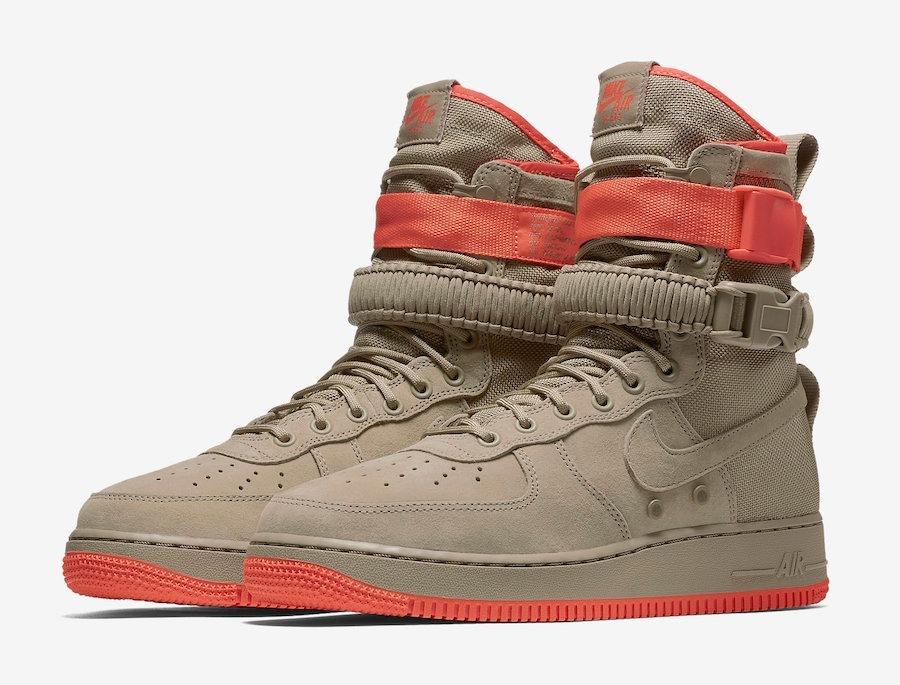 Sneakers Coral Botas Nike Force Af1 Sf 1 Air Mayma Rush kZuXiOP