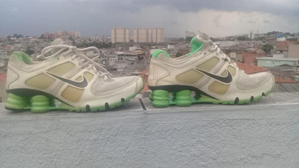 692c1d94ba Nike Shox Flywire Turbo 11 Tam. 35 23 Cm. Seminovo - R  120