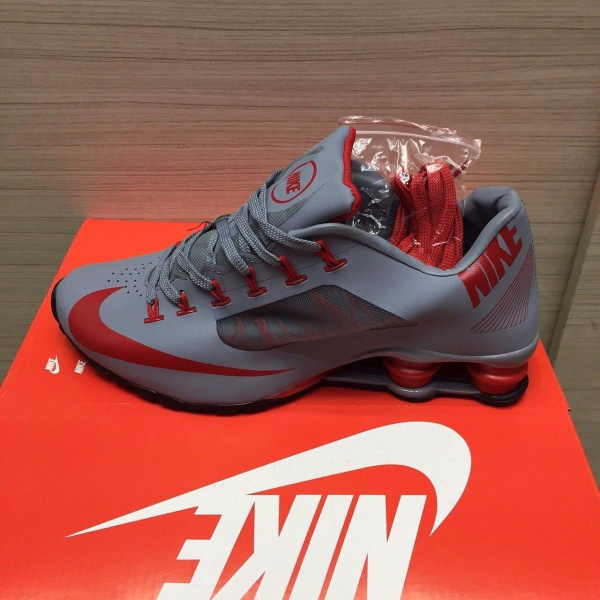 fd5c408abcd Tenis Nike Shox 4 Molas Branco  nike shox r4 mercado livre