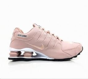 943c8fbd9bc Nike 4 Mola Rosa E Branco - Tênis para Feminino no Mercado Livre Brasil