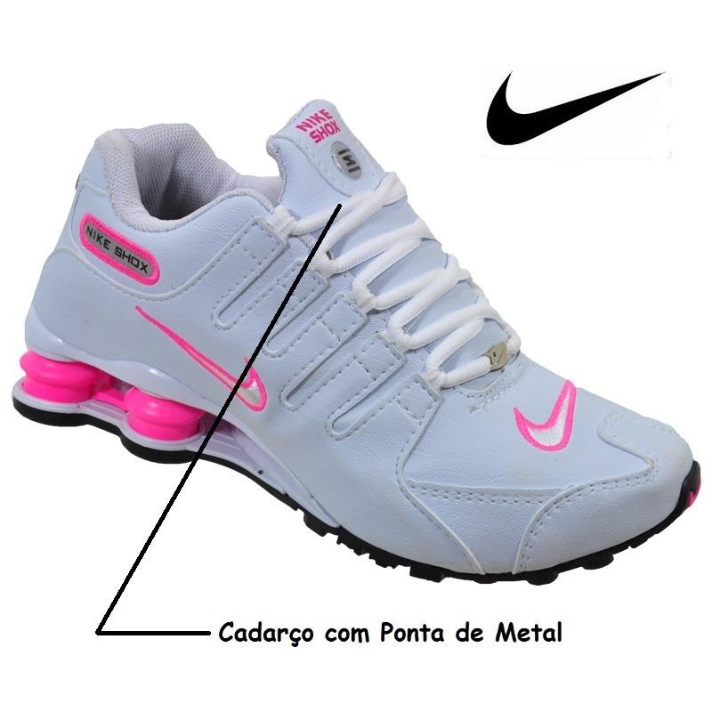 e0e51158cbc greece nike shox nz classic branco rosa feminino original 4 molas. carregando  zoom. fd87f