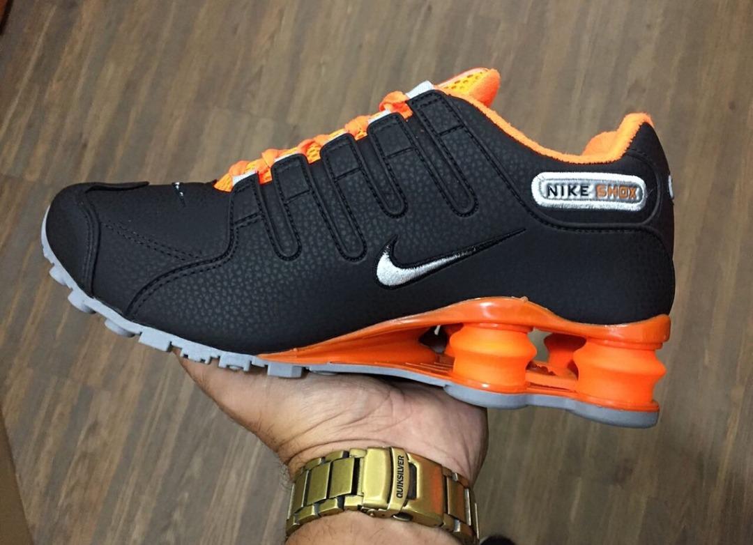 f37cc27c7a1 Nike Shox Nz Mod Eua Miami Edição Limitada - R  489