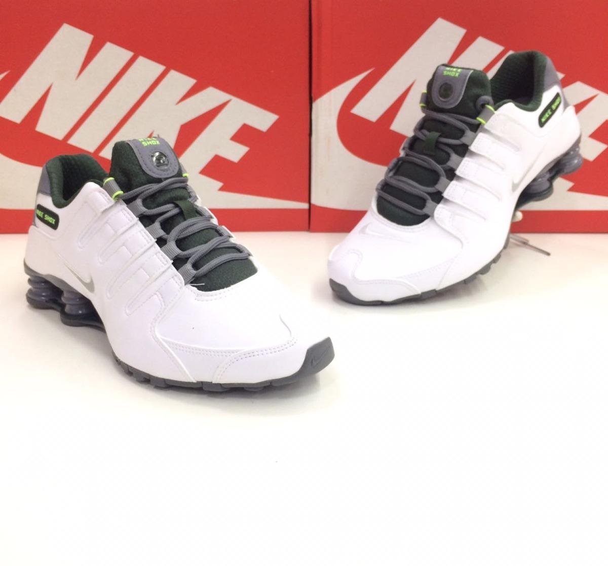 best sneakers d41f7 cd5e1 ... netherlands nike shox nz.. original.. blanco plata metalizado. cargando  zoom. top quality zapatillas ...