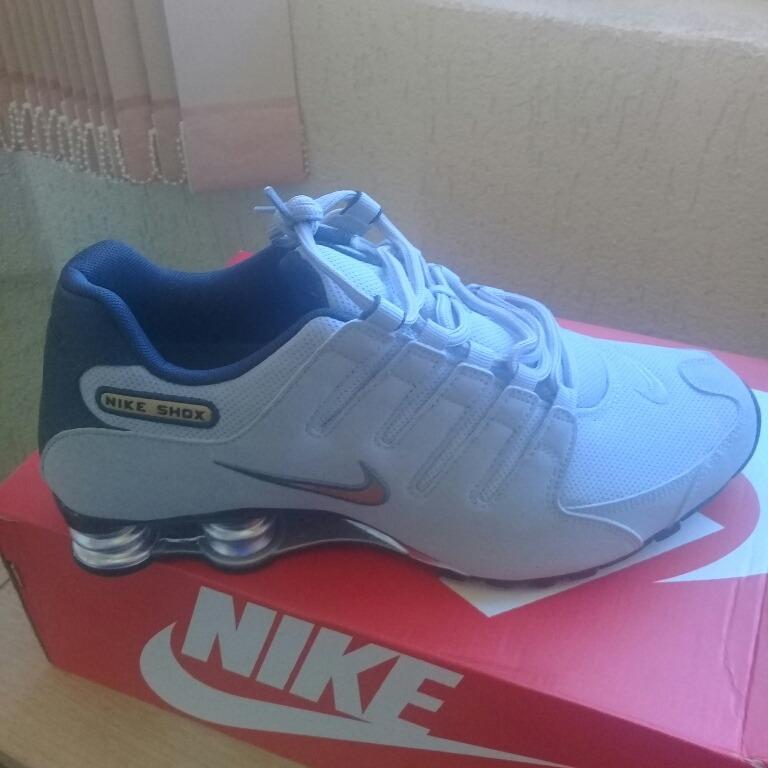 115b17689ac Nike Shox Nz Tamanho 42 (venda Somente Brasília -df - R  390