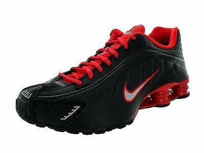 78243f90407 Nike Shox R4 Original Preto E Vermelho - R  399