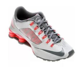 10fdfdd4d7f Nike Shox R4 Cinza Camurça - Nike no Mercado Livre Brasil