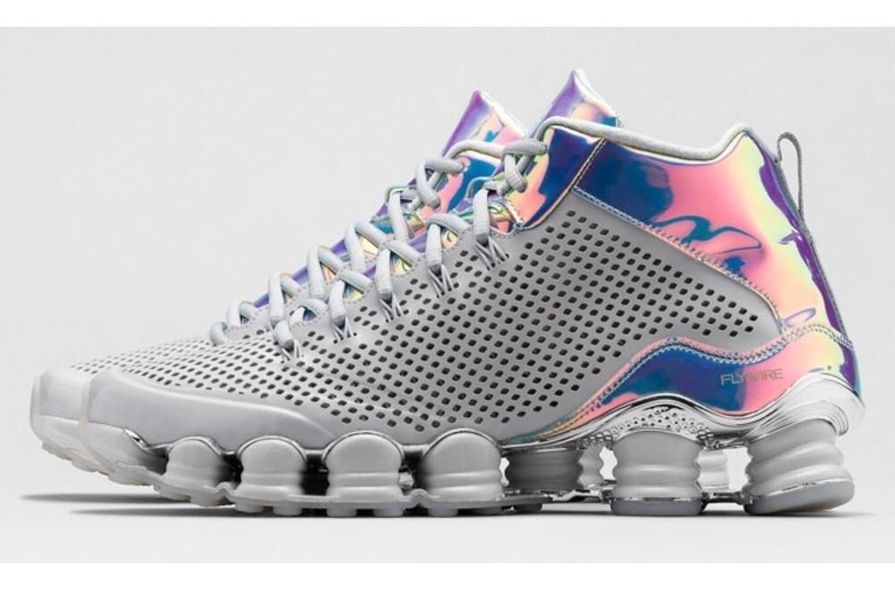 new styles 8a17d ac001 Nike Shox Tlx Mid 'iridescent' Size 43 Br Ds Novo