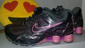 eb9848c627c ... 8 Feminino Pink Tamanho 9 Eua - 38 Brasil. Usado - São Paulo · Nike  Shox Turbo 12 Preto E Roxo Tam. 35 23 Cm. Original