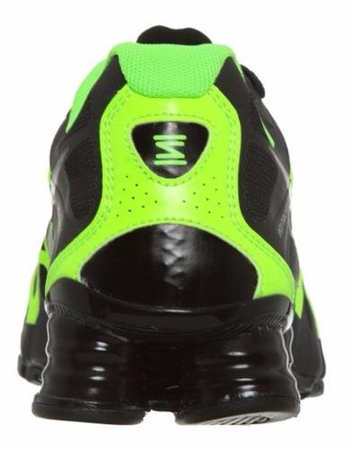 sale retailer 81392 8cadf nike shox turbo preto e verde