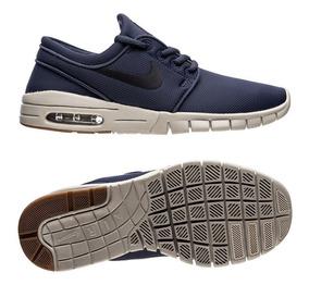 Nike Stefan Janoski Max Thunder Blue Black Noir 631303 402