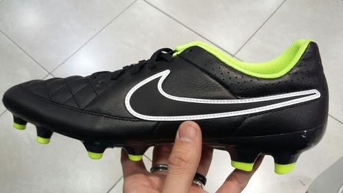 separation shoes 6df87 4f917 Botas de Futbol NIke Tiempo Mystic VII INIC Negro Amarillo