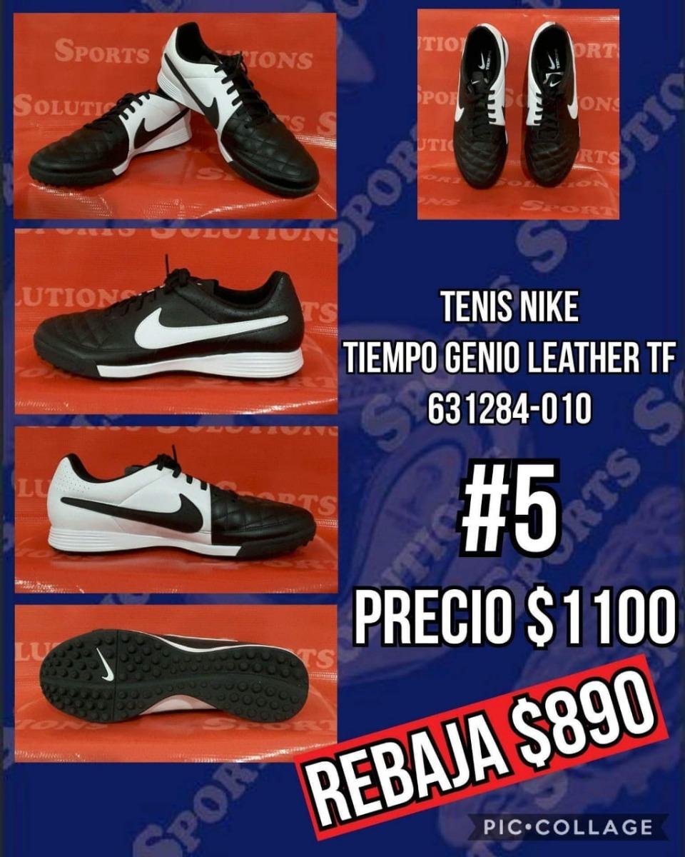 aeffc8d12d5bc Nike Tiempo Genio Leather Tf - 631284-010 -   849.00 en Mercado Libre