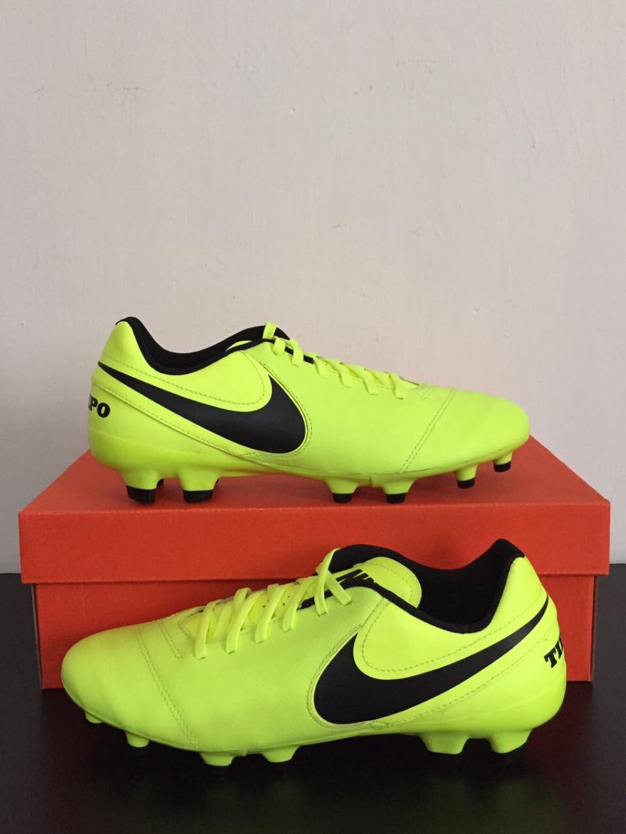 Tacos Futbol Nike Tiempo Ii Fg Piel   6 6 5 7 5 8 Mx Envio cb2295e5423b6