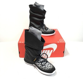 Nike Mujer 5 Two Botas T 37 W Flyknit Hi Roshe tQCshdr