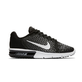 Nike Wmns Air Max Sequent 2 Negro blanco Mujer (852465 002)