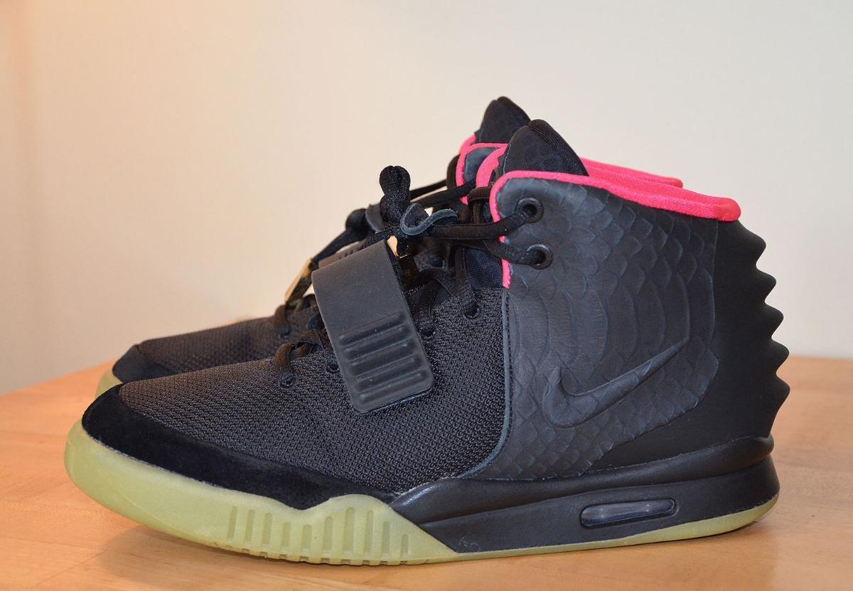 promo code acb09 8cf16 Nike Yeezy 2 Black Solar Red