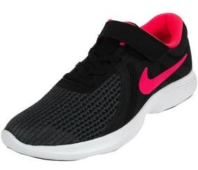 Nike Zapatillas Revolution 4 908988 011 Negrorojo Dep