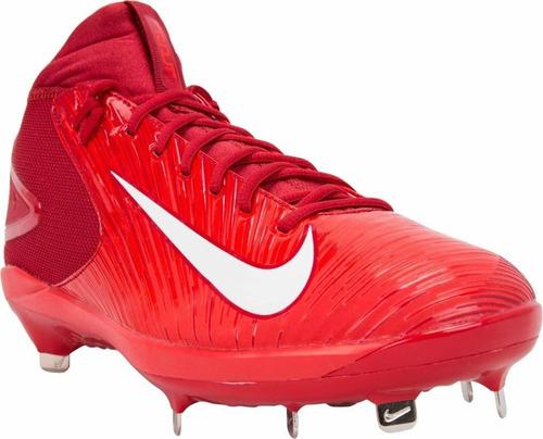 nike zapatos para béisbol trout 3 pro para hombres, rojo