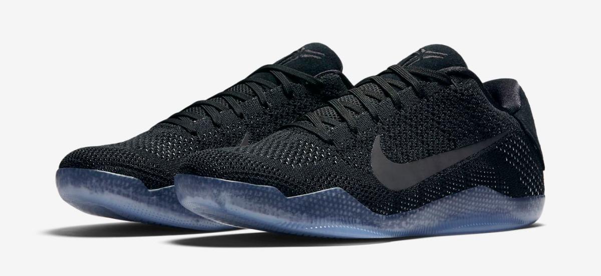 finest selection d8870 394ff Nike Zoom Kobe 11 Xi Low Elite Black Space Kobe Bryant