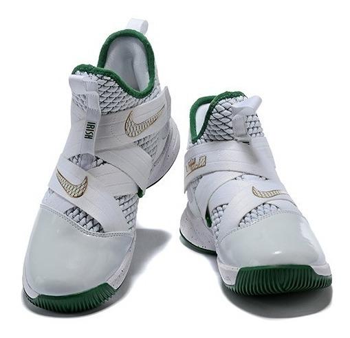 best service 2e2e7 6e98a Nike Zoom Lebron Soldier 12 Irish Svsm Lebron James Limited