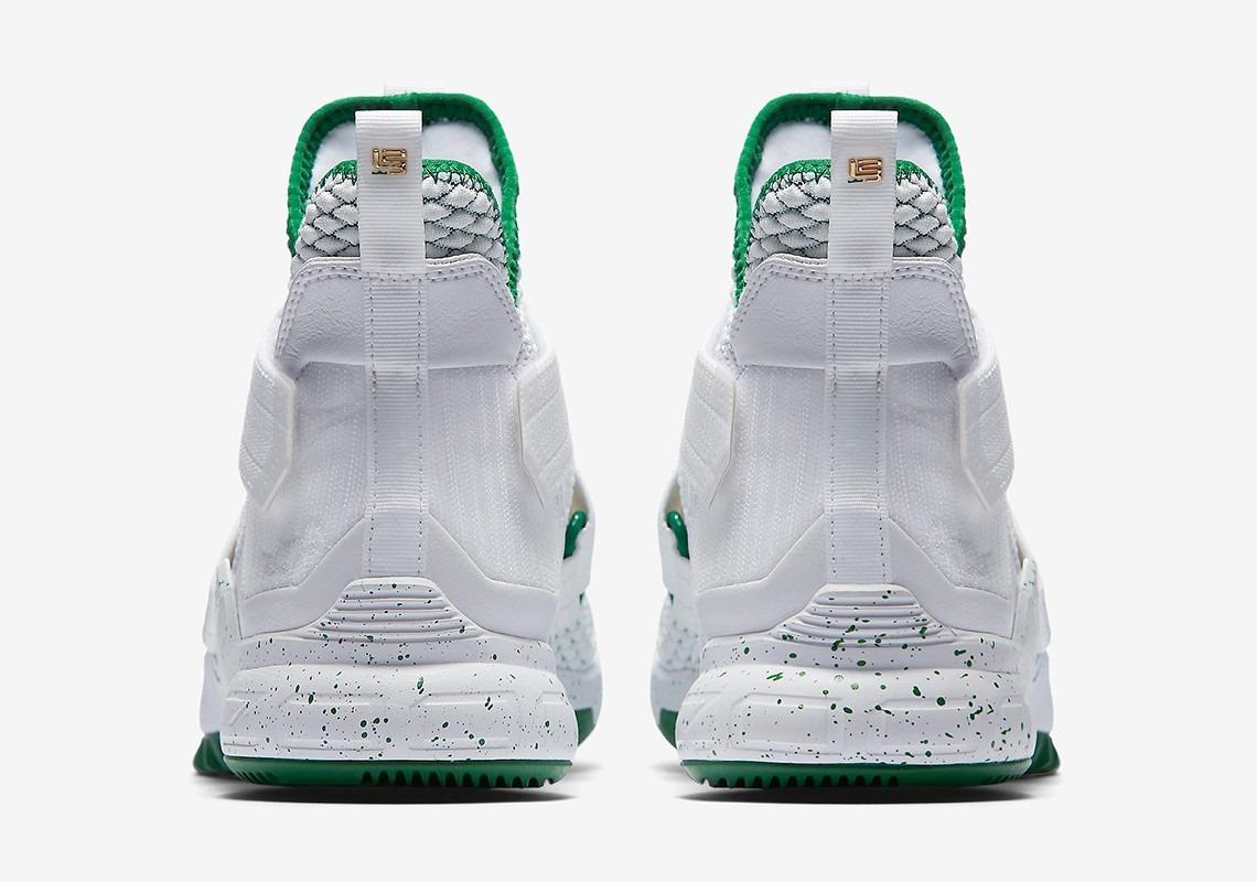 best service 32cde 436e1 Nike Zoom Lebron Soldier 12 Irish Svsm Lebron James Limited