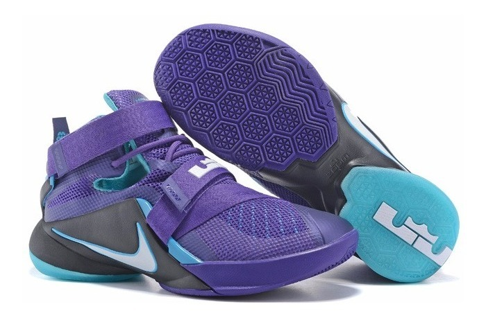more photos e3c91 09f30 Nike Zoom Lebron Soldier 9 Court Purple Lebron James