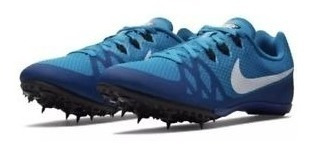nike zoom rival m8 spikes atletismo distancia azul