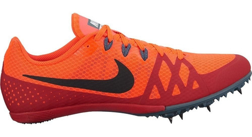 nike zoom rival m8 spikes atletismo distancia naranja/guida