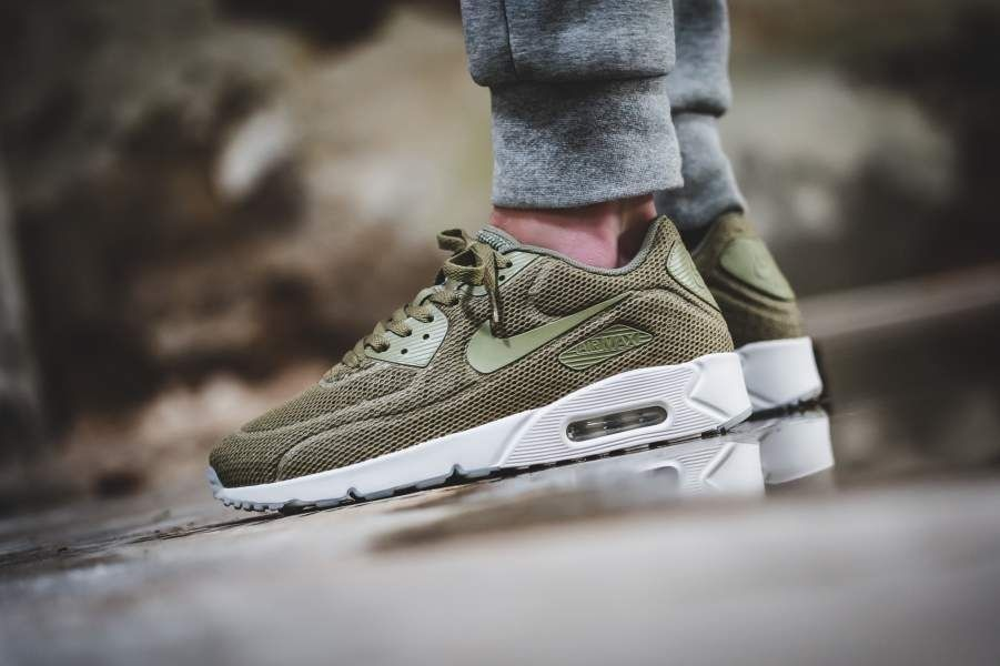 Nikeair Max 90 Ultra 2.0 Br Trooper Greensummit White 28cm