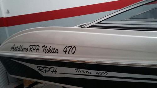 nikita 1600 la mejor de astillero rph completa sin motor