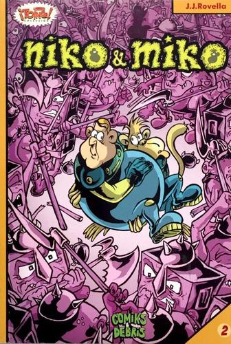 niko y miko - comic infantil sin diálogos - ciencia ficcion