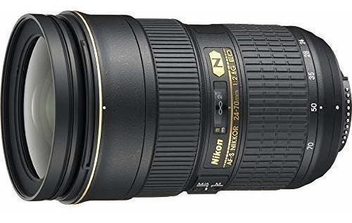 nikon 24 70 mm f - 2.8g ed enfoque automático s lente de zoo