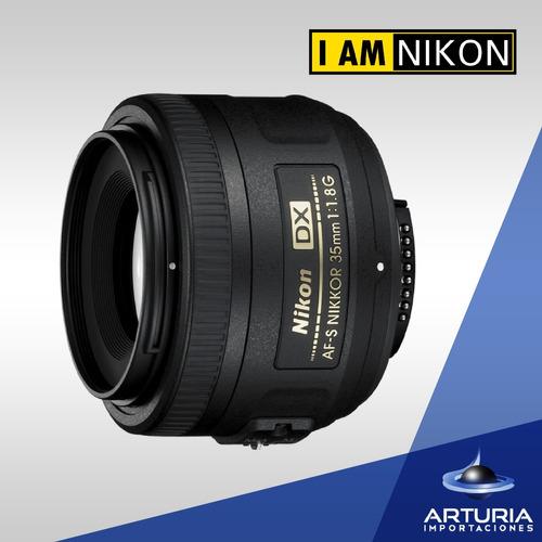 nikon 35mm lente 1.8f/1.8g af-s dx
