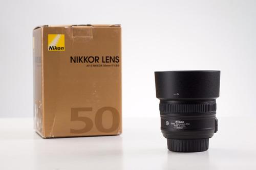 nikon 50 mm 1.8g excelente estado como nuevo