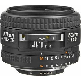 Nikon Af Nikkor 50mm F/1.4d Formato Fx Em Até 12x Sem Juros