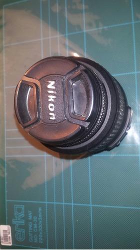 nikon af-s  nikkor 18-55mm f/3.5-5.6g mejor precio ml