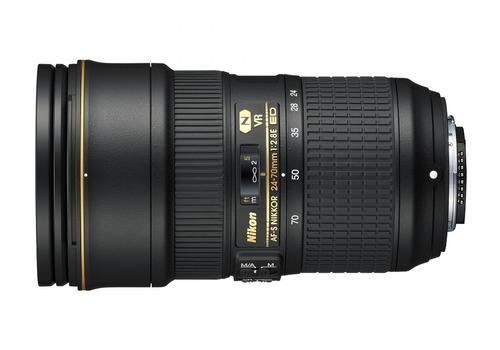 nikon af-s nikkor fx 24-70mm f / 2.8e ed vibración reducc