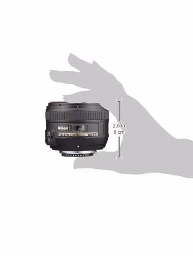 nikon af-s nikkor fx 50mm f / 1.4g lente con enfoque