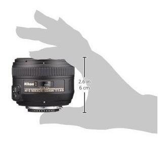 nikon af-s nikkor fx 50mm f / 1.4g lente con enfoque auto