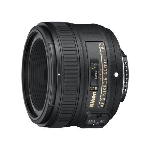 nikon afs nikkor 50 mm f 18g lente con filtro tiffen 58 mm