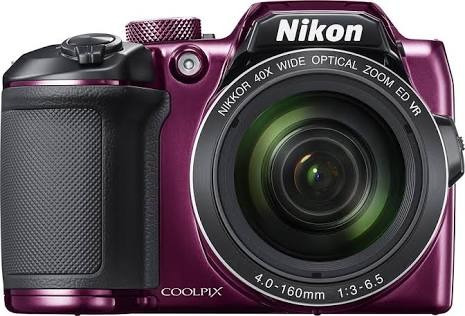 nikon b500 (colores) 16mpx 40x wifi nfc bluetooth