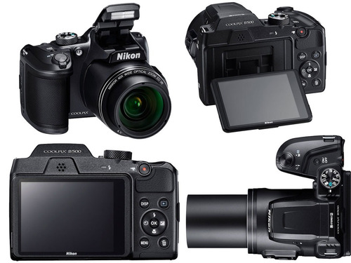 nikon b500 coolpix b500 16mp 40x full hd + 16gb + bolso