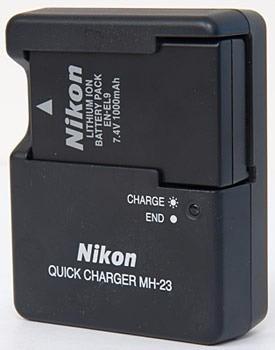 nikon baterías cargador