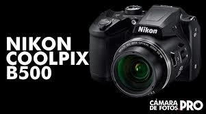 nikon cámara b500 16.0 mp zoom 40x wifi nfc full hd movie w7